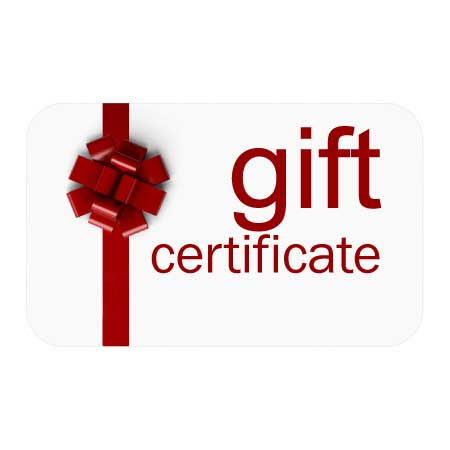 gift certificate 100 towards any membership option
